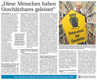 """""""Diese Menschen haben Unschätzbares geleistet"""" - Artikelbild NK 20 Jahre Deutsche Einheit"""
