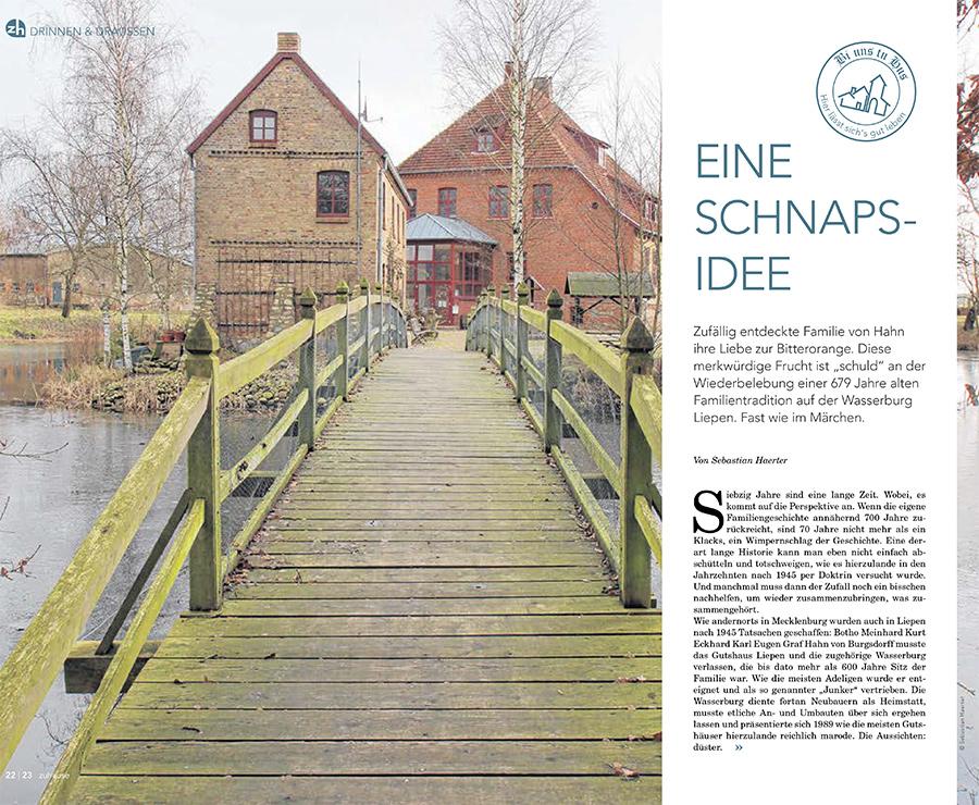 Eine Schnapsidee - Beitragsbild NK Magazin zuhause