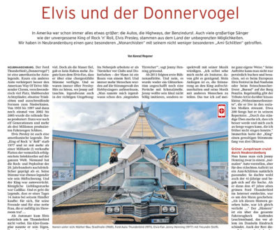 Elvis und der Donnervogel - Artikelbild NK rat.geber