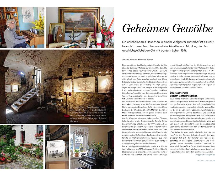Geheimes Gewölbe - Beitragsbild NK Magazin zuhause